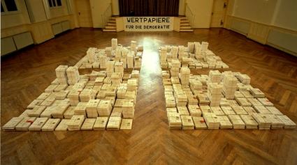 Thüringen 2000: Unterschriften für Mehr Demokratie